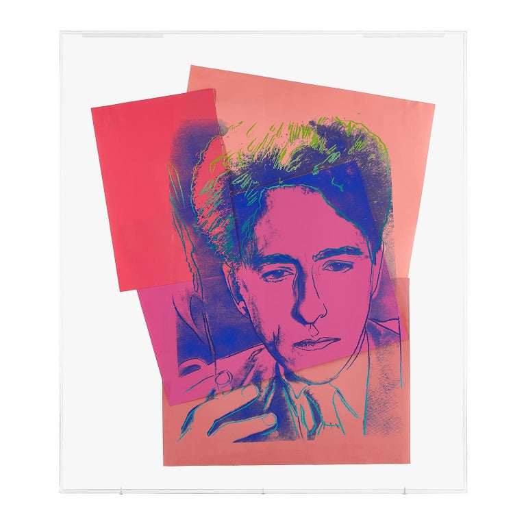 Jean Cocteau by Andy Warhol  For Sale 2