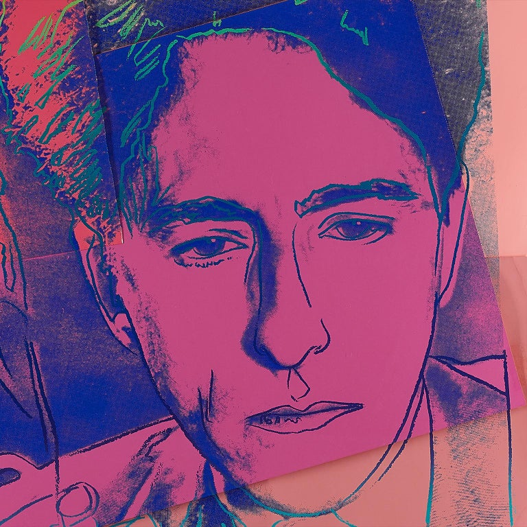 Jean Cocteau by Andy Warhol  For Sale 4