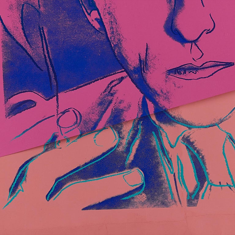 Jean Cocteau by Andy Warhol  For Sale 5