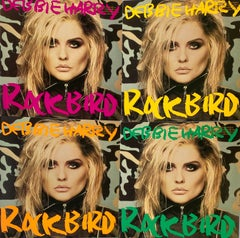 Andy Warhol Debbie Harry album cover art 1986: set of 4 (Andy Warhol record art)