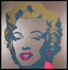 """Andy Warhol - """"Marilyn Monroe"""" - unique color offset lithograph - ready to hang"""