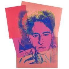 Jean Cocteau by Andy Warhol