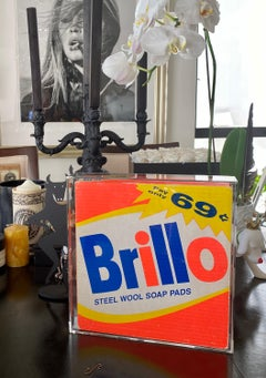 Original Andy Warhol Brillo Box