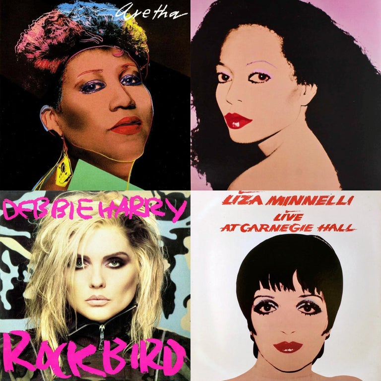 Rare Andy Warhol Record Cover Art set of 4 (Andy Warhol album art) - Mixed Media Art by Andy Warhol