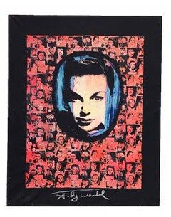 Judy Garland Liza Minnelli screenprint. 1980 artist proof