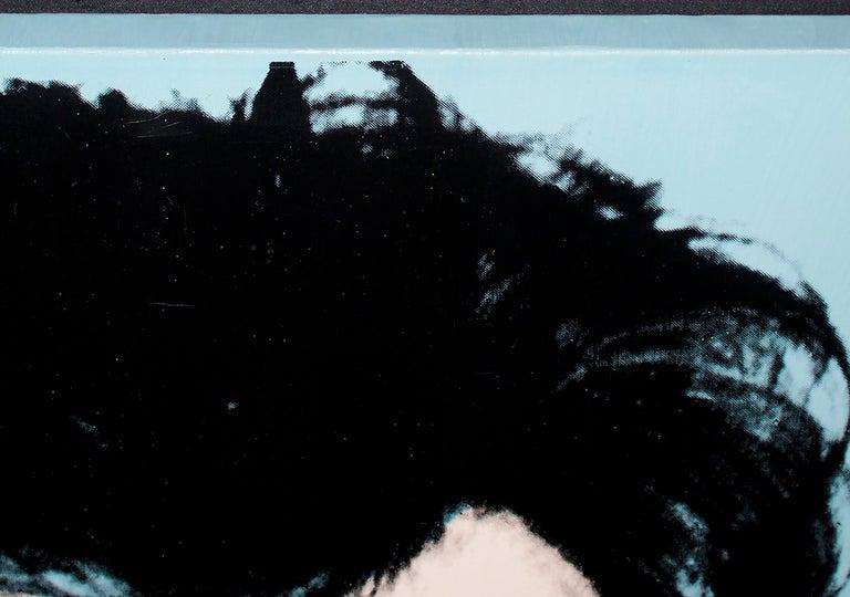 An acrylic screen print by Andy Warhol.