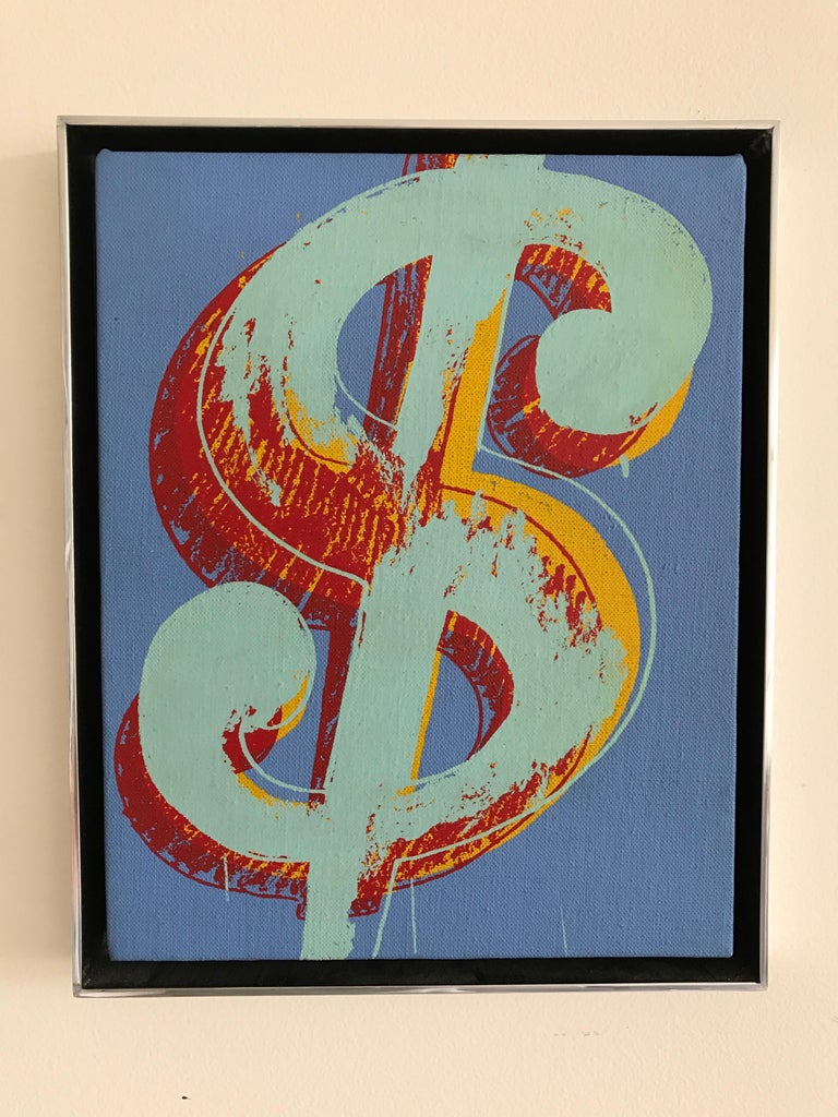 Dollar Sign - Pop Art Painting by Andy Warhol