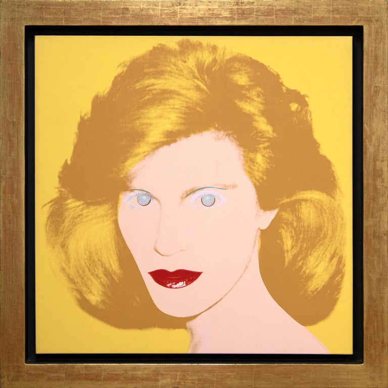 Portrait of a Lady - Painting by Andy Warhol