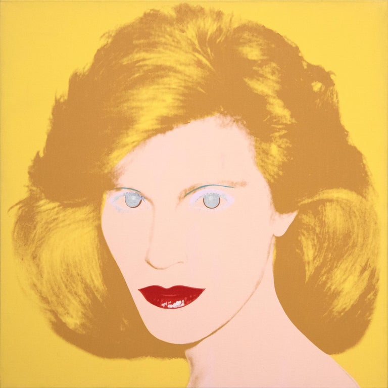 Andy Warhol Portrait Painting - Portrait of a Lady