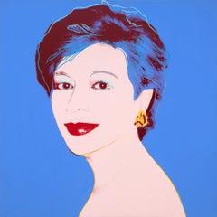 Portrait of Dorothy Blau-Blue