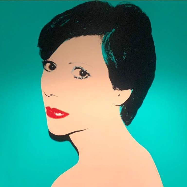 Andy Warhol Portrait Painting - Unidentified Woman