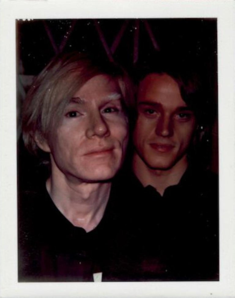 Andy Warhol and Jed Johnson - Photograph by Andy Warhol