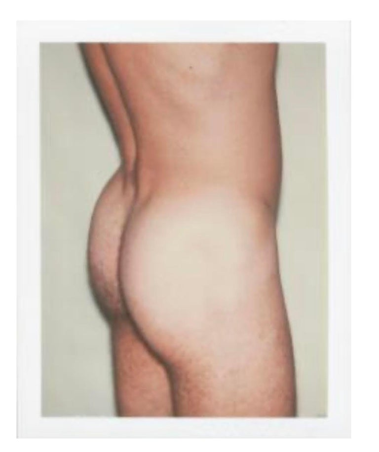 """Andy Warhol """"Butt"""" Polaroid, 1977 - Photograph by Andy Warhol"""