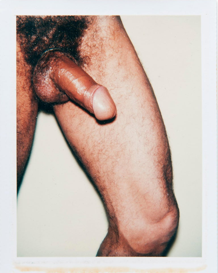 Andy Warhol, Four Polaroid Photos from the 'Sex Parts and Torsos' Series, 1977 - Photograph by Andy Warhol