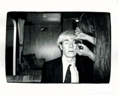 Andy Warhol Getting Made Up