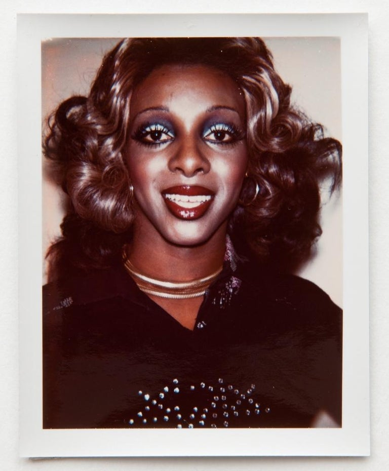 Andy Warhol, Ladies & Gentlemen, Polaroid Photographs, 1974 - Beige Portrait Photograph by Andy Warhol