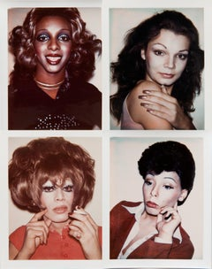 Andy Warhol, Ladies & Gentlemen, Four Polaroid Photographs, 1974