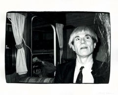 Andy Warhol on Commercial Set