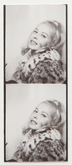 Andy Warhol, Photo Booth Strip of Holly Solomon, 1963