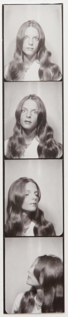 Andy Warhol, Photo Booth Strip of Sandy Brant, circa 1967-1970