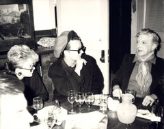 Andy Warhol, Photo of Judith Krantz, Boy George and Quentin Crisp circa 1986
