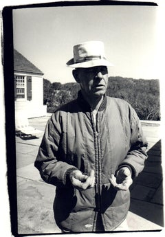 Andy Warhol Photograph, Mr. Winters, Caretaker of the Montauk Estate, circa 1976