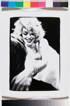 Photograph of a Marilyn Monroe Drag Impersonator
