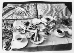 Andy Warhol, Photograph of a Room Service Tray in Paris, 1980