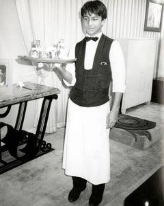 Andy Warhol, Photograph of a Young Waiter, Paris, 1978