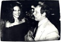 Andy Warhol, Photograph of Andrea de Portago and a Man, 1970s