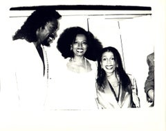 Andy Warhol, Photograph of Ashford Simpson and Diana Ross circa 1980