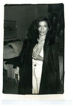 Andy Warhol, Photograph of Bianca Jagger, circa 1979