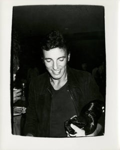 Andy Warhol, Photograph of Bruce Springsteen, 1978