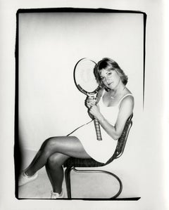Andy Warhol, Photograph of Chris Evert Lloyd, circa 1986