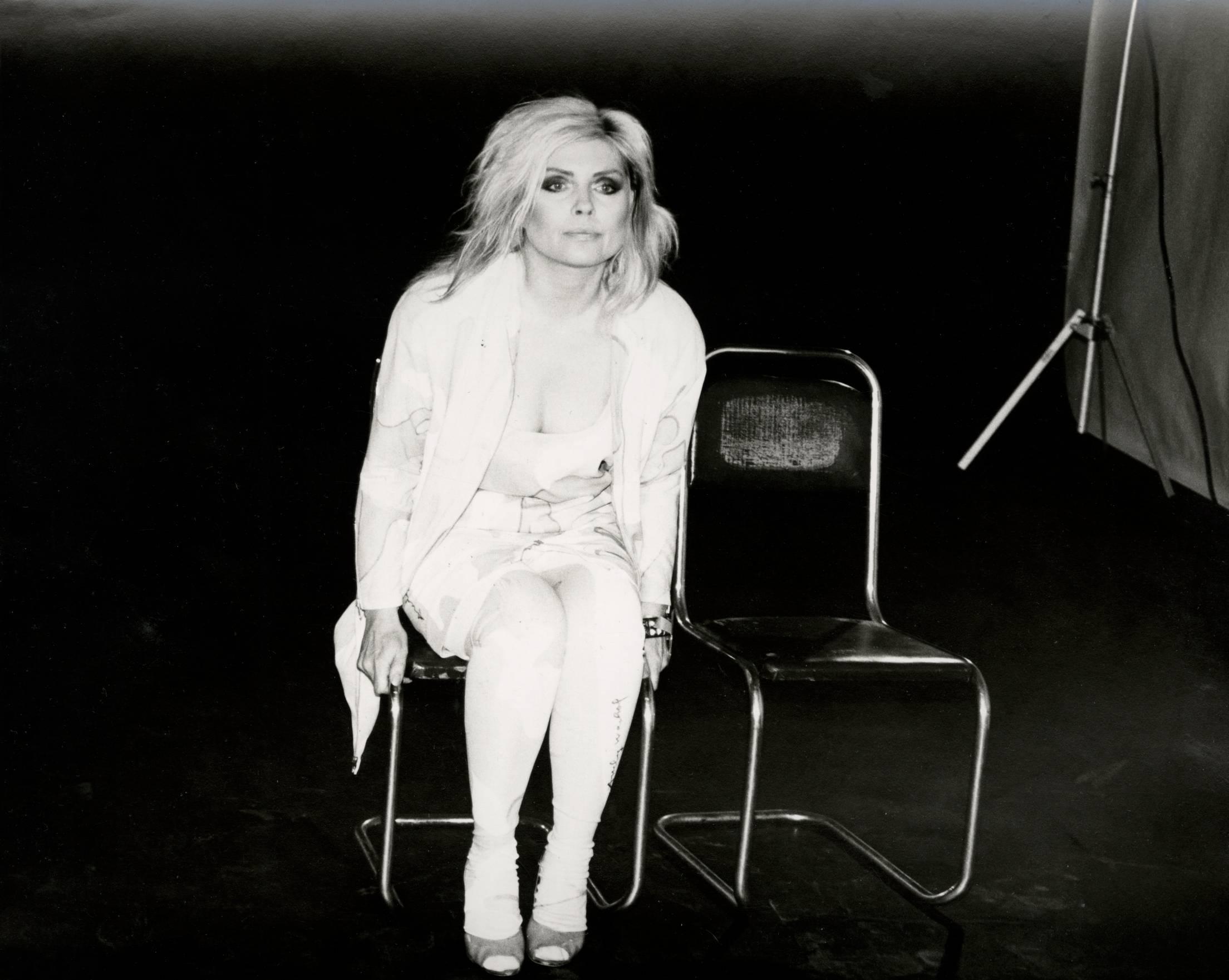 Photograph of Debbie Harry (Blondie), 1985