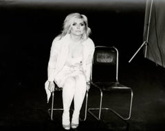 Photograph of Debbie Harry (Blondie), 1985