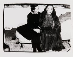 Andy Warhol, Photograph of Diana Vreeland and Martha Graham, 1980