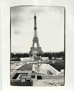 Andy Warhol, Photograph of Eiffel Tower in Paris, 1982