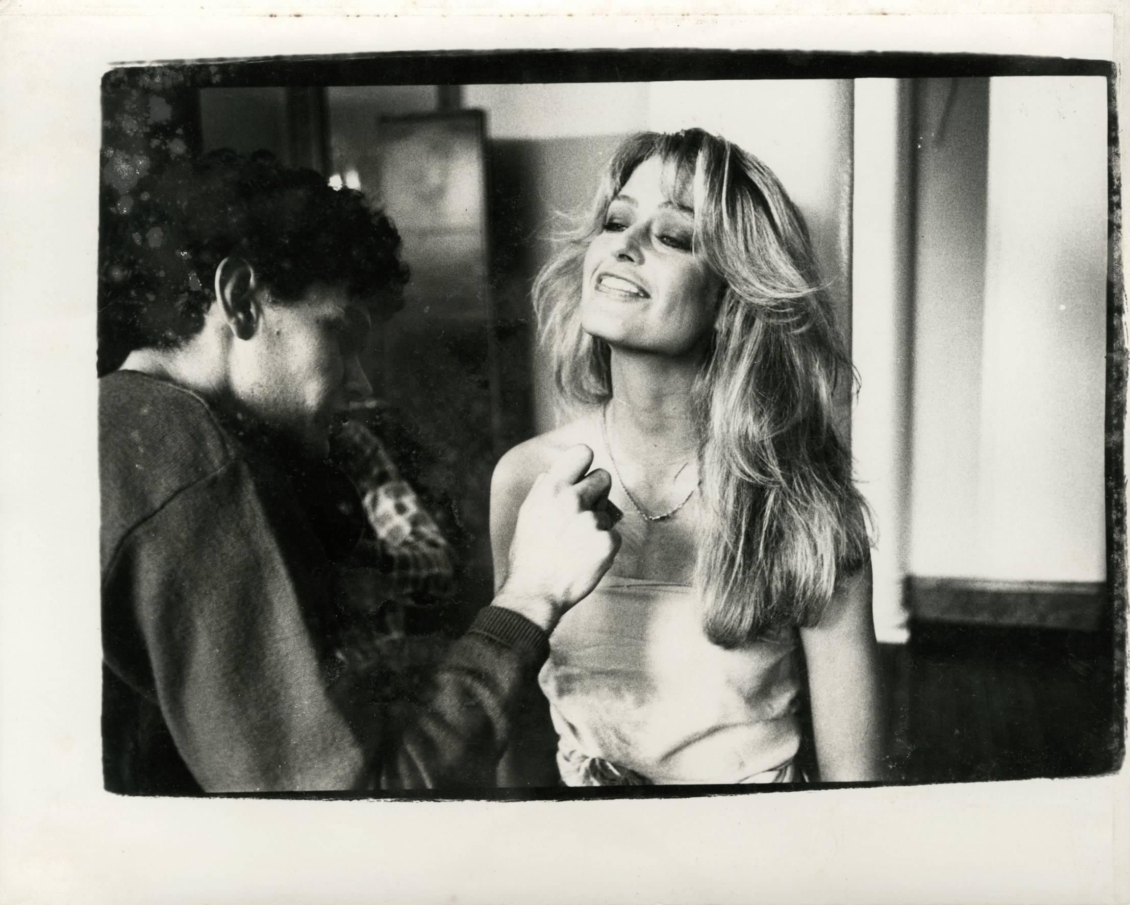 Andy Warhol, Photograph of Farrah Fawcett Majors circa 1979