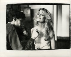 Andy Warhol, Photograph of Farrah Fawcett Majors circa 1979
