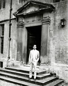 Andy Warhol, Photograph of Fred Hughes in Naples, Italy circa late 1970s