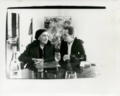 Andy Warhol, Photograph of Georgia O'Keeffe and Juan Usle, 1982