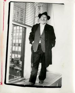 Andy Warhol, Photograph of Henry Geldzahler circa 1979
