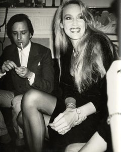 Andy Warhol, Photograph of Fred Hughes and Jerry Hall circa 1980