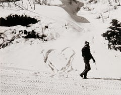 Andy Warhol, Photograph of Jon Gould in Aspen, 1983