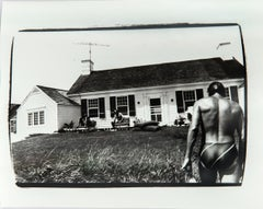 Andy Warhol, Photograph of Jon Gould in Montauk, 1980s