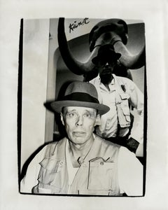 Andy Warhol, Photograph of Joseph Beuys, 1980