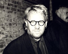 Andy Warhol, Photograph of Joseph Kosuth circa 1985