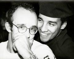 Photograph of Keith Haring and Juan Rivera