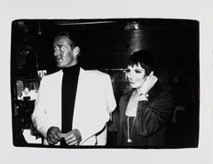 Andy Warhol, Photograph of Liza Minnelli and Halston, 1979